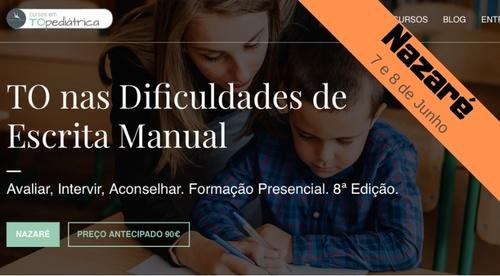 TO nas Dificuldades de Escrita Manual - Nazaré - 7/8.Jun.2019