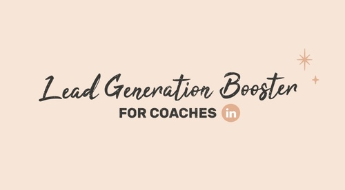 Lead Generation Booster For Coaches