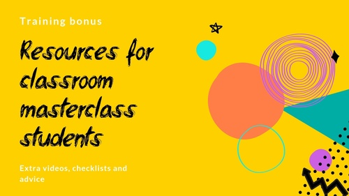 Comms Creative College student resources
