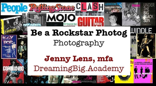 Be a Rockstar Photographer
