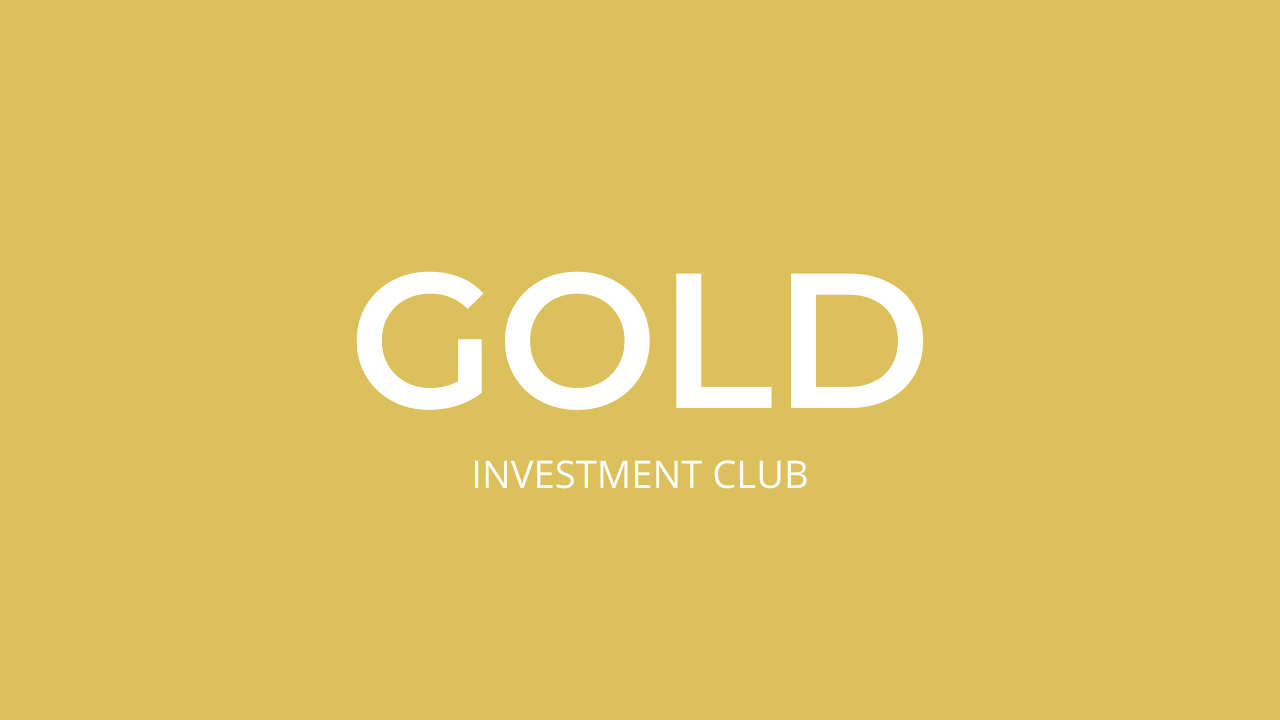 Investment Club GOLD