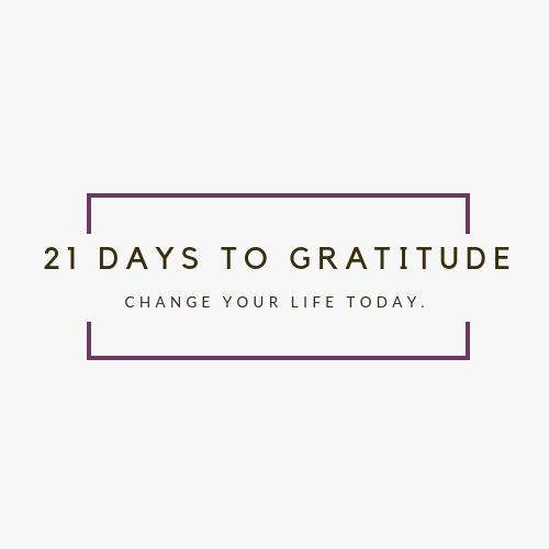 21 Days to Gratitude