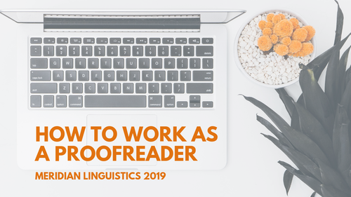 How to Work as a Proofreader