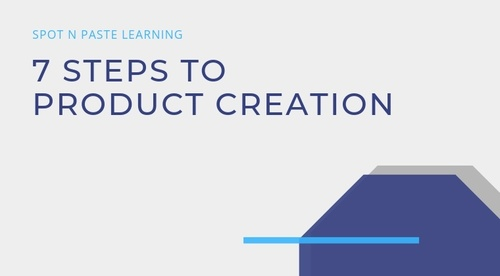 7 Steps to Product Creation