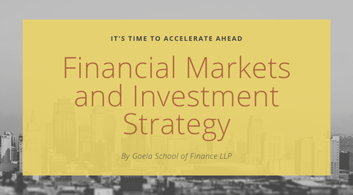 Financial Markets and Investment Strategy Course