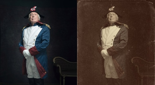 Create a Vintage Photo Effect in Photoshop