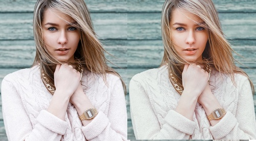 Portrait Enhancing in Photoshop