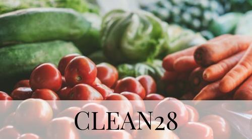 CLEAN28 29/4 - 4 veckors hälsopepp med god och näringsrik mat (KOSTRÅDGIVNING)