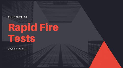 Rapid Fire Test Framework