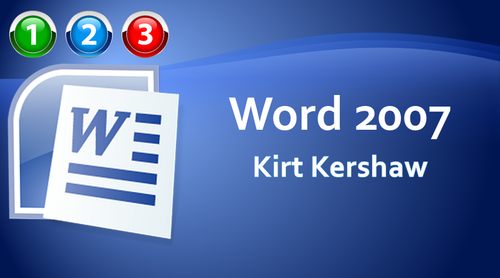 Word 2007 Beginner to Advanced