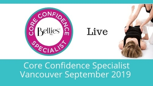 Core Confidence Specialist Certification - Vancouver Sept 28-29 2019