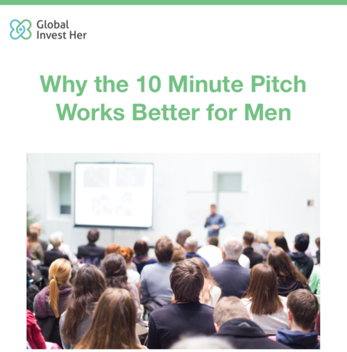 Article: Why the 10-Minute Pitch Works Better for Men