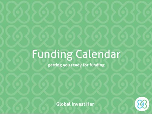 Funding Calendar