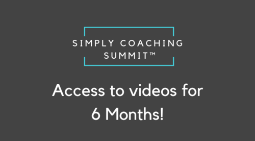 Simply Coaching Summit All Access Pass