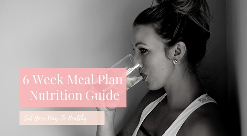 6 Week Nutrition Meal Plan