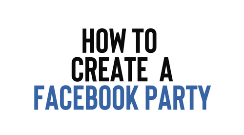 Facebook Party 101