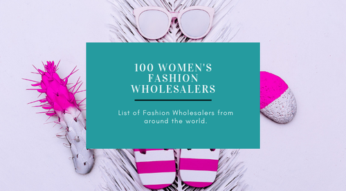 Purchase and download a list of over 100 Fashion Wholesalers from around the world.