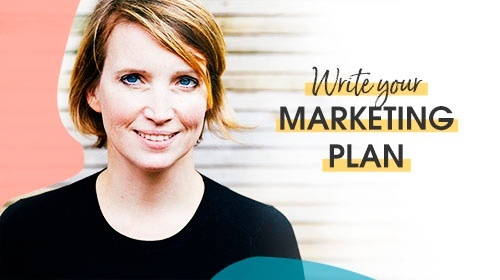 Write your marketing plan