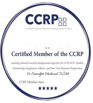 Certified Clinical Research Professionals Society Membership