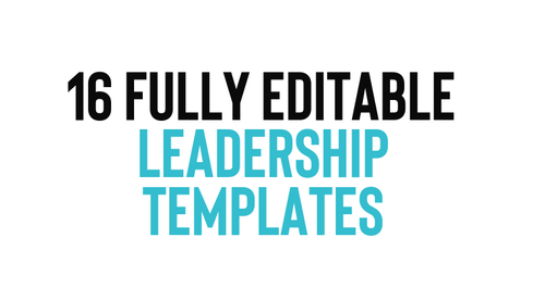 Canva Leadership Template Pack