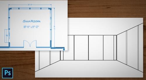 From Floor Plan To 3D Sketch