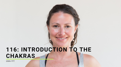 116: Introduction to the Chakras