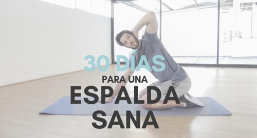 30 Días Para Una Espalda Sana