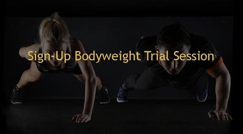 Sign-up Bodyweight Trial Session