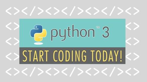 Start Python 3 Programming Today!