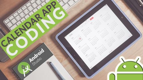 Calendar App Coding in Android Studio