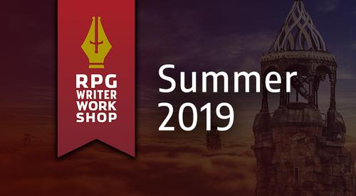 RPG Writer Workshop | Summer 2019