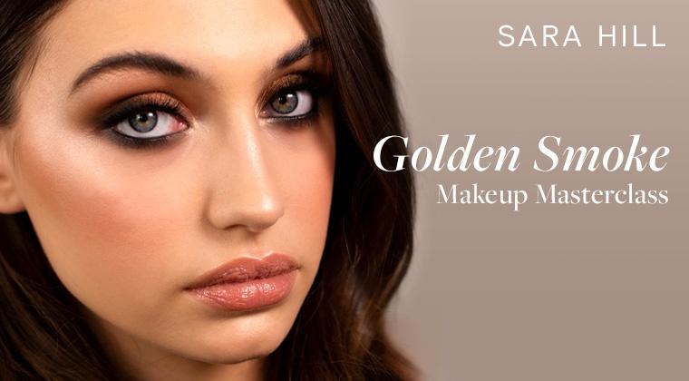 Golden Smoke Makeup Masterclass + Free Boho Bridal Masterclass