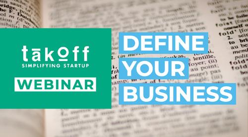 Define Your Business | Webinar