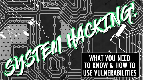 The System Hacking Course