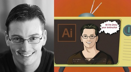 Adobe Illustrator CC for beginners.