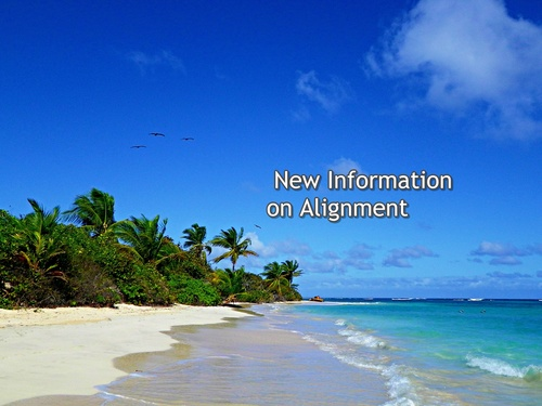 New Information On Alignment