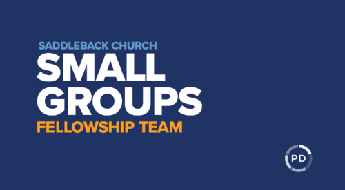 Intro to Small Groups