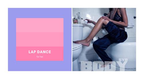 [VIDEO DANCE] Lap Dance by Cat Cantrill to Body by Syd