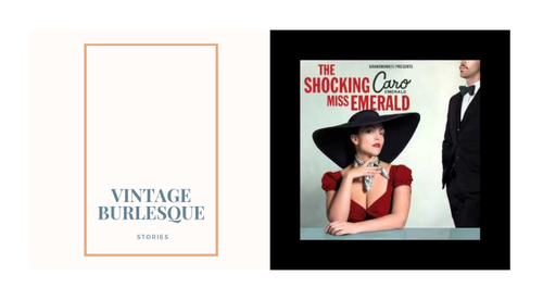 [VIDEO DANCE] Beginning Vintage Burlesque by Cat Cantrill to Excuse My French by Caro Emerald