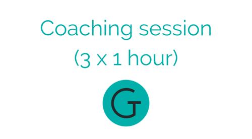 The Tutor Gurus Coaching sessions (3 x 1 hour)