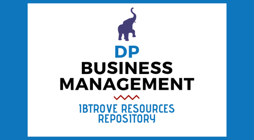 IBDP BUSINESS MANAGEMENT RESOURCE REPOSITORY