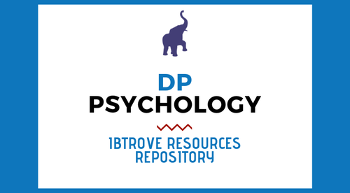 PSYCHOLOGY RESOURCE REPOSITORY