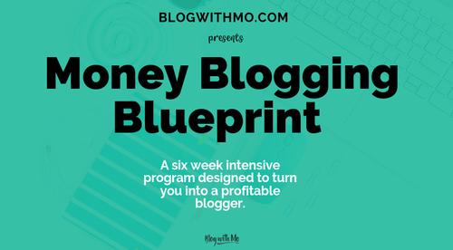 Money Blogging Blueprint
