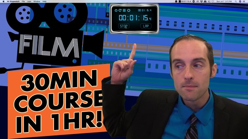 Film a 30 Minute Video Course in 1 Hour!
