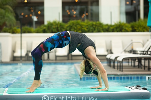 Float Into Fitness Pool YOGA Teacher Certification