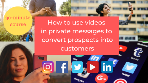 How to use videos in private messages to make more money