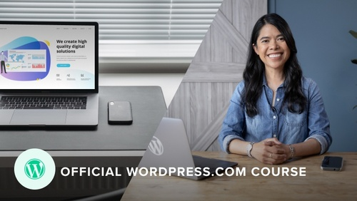 Build a Professional Website with WordPress.com Online Course