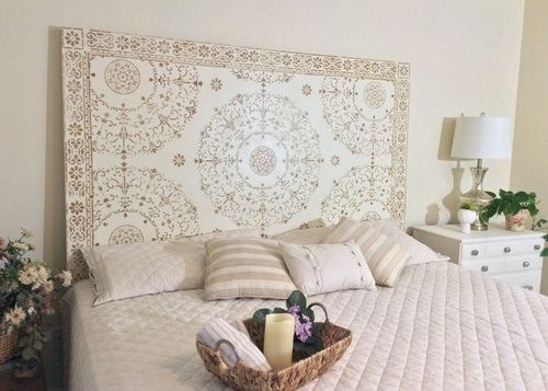 Raised Relief Headboard
