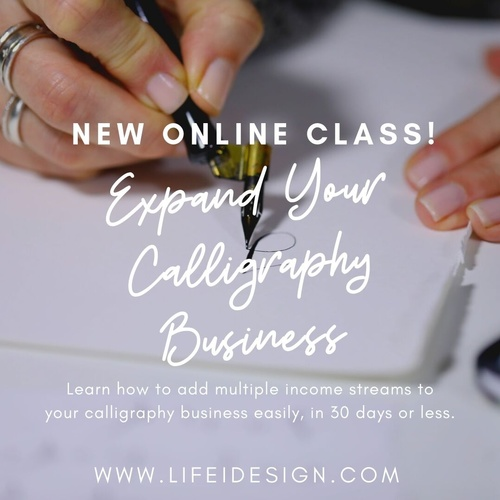 How to Expand Your Calligraphy Business
