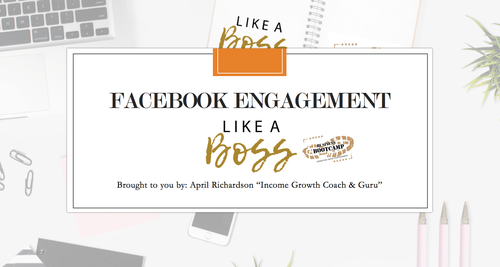 Facebook Engagement Like a Boss
